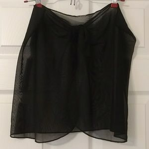 FREE? Sheer cover up skirt